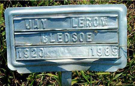 BLEDSOE, JAY LEROY - Boone County, Arkansas | JAY LEROY BLEDSOE - Arkansas Gravestone Photos