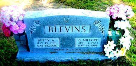 BLEVINS, SHERMAN  MILFORD - Boone County, Arkansas | SHERMAN  MILFORD BLEVINS - Arkansas Gravestone Photos