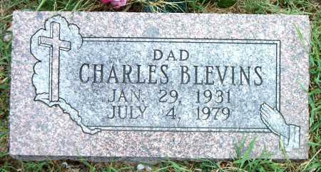 BLEVINS, CHARLES - Boone County, Arkansas   CHARLES BLEVINS - Arkansas Gravestone Photos