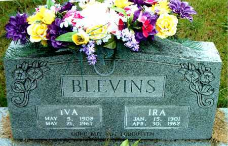BLEVINS, IVA - Boone County, Arkansas | IVA BLEVINS - Arkansas Gravestone Photos