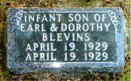 BLEVINS, INFANT SON - Boone County, Arkansas | INFANT SON BLEVINS - Arkansas Gravestone Photos