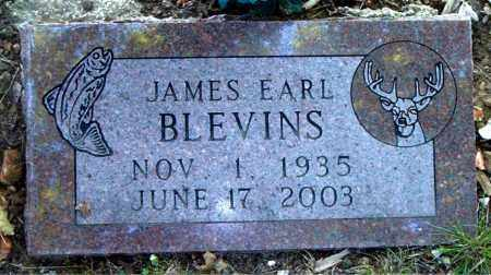 BLEVINS, JAMES EARL - Boone County, Arkansas   JAMES EARL BLEVINS - Arkansas Gravestone Photos