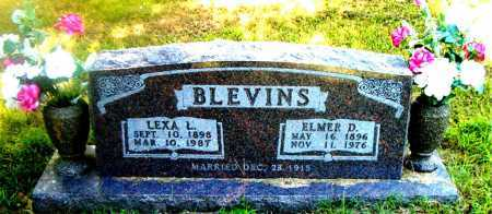BLEVINS, ELMER  D. - Boone County, Arkansas | ELMER  D. BLEVINS - Arkansas Gravestone Photos