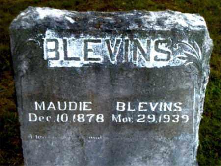 BLEVINS, MAUDIE - Boone County, Arkansas | MAUDIE BLEVINS - Arkansas Gravestone Photos