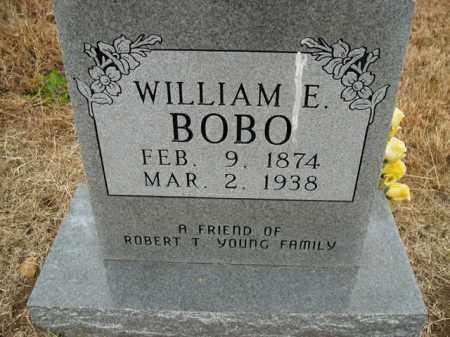BOBO, WILLIAM E. - Boone County, Arkansas | WILLIAM E. BOBO - Arkansas Gravestone Photos