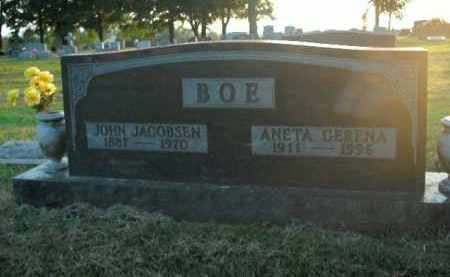 BOE, JOHN JACOBSEN - Boone County, Arkansas | JOHN JACOBSEN BOE - Arkansas Gravestone Photos