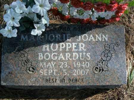 HOPPER BOGARDUS, MARJORIE JOANN - Boone County, Arkansas | MARJORIE JOANN HOPPER BOGARDUS - Arkansas Gravestone Photos