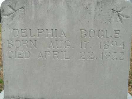 BOGLE, DELPHIA - Boone County, Arkansas | DELPHIA BOGLE - Arkansas Gravestone Photos