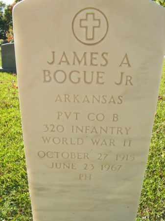 BOGUE, JR   (VETERAN WWII), JAMES A - Boone County, Arkansas | JAMES A BOGUE, JR   (VETERAN WWII) - Arkansas Gravestone Photos