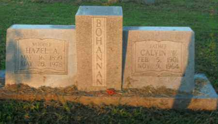 BOHANNAN, HAZEL A. - Boone County, Arkansas | HAZEL A. BOHANNAN - Arkansas Gravestone Photos