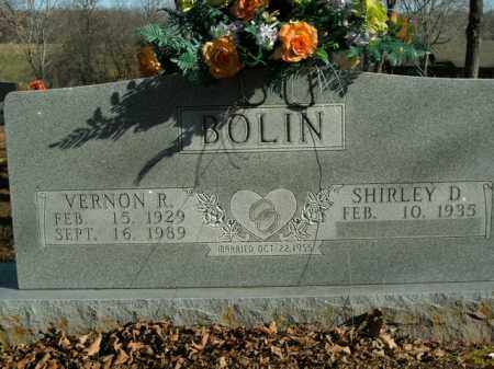 BOLIN, VERNON R. - Boone County, Arkansas | VERNON R. BOLIN - Arkansas Gravestone Photos