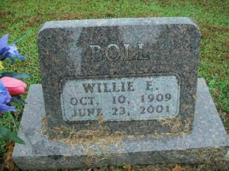 BOLL, WILLIE E. - Boone County, Arkansas | WILLIE E. BOLL - Arkansas Gravestone Photos