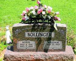 BOLLINGER, NOXIE - Boone County, Arkansas | NOXIE BOLLINGER - Arkansas Gravestone Photos
