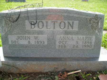 SEVERTSEN BOLTON, ANNA MARIE - Boone County, Arkansas | ANNA MARIE SEVERTSEN BOLTON - Arkansas Gravestone Photos