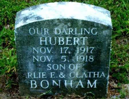 BONHAM, HUBERT - Boone County, Arkansas | HUBERT BONHAM - Arkansas Gravestone Photos