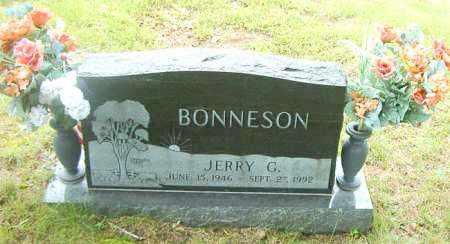BONNESON, JERRY  G. - Boone County, Arkansas | JERRY  G. BONNESON - Arkansas Gravestone Photos
