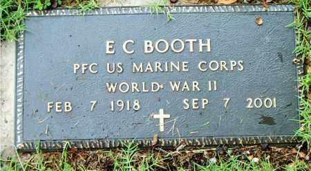 BOOTH  (VETERAN WWII), E. C. - Boone County, Arkansas | E. C. BOOTH  (VETERAN WWII) - Arkansas Gravestone Photos