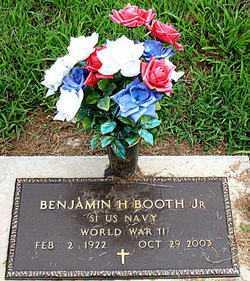 BOOTH, JR  (VETERAN WWII), BENJAMIN H - Boone County, Arkansas   BENJAMIN H BOOTH, JR  (VETERAN WWII) - Arkansas Gravestone Photos