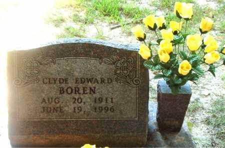BOREN  (VETERAN WWII), CLYDE EDWARD - Boone County, Arkansas | CLYDE EDWARD BOREN  (VETERAN WWII) - Arkansas Gravestone Photos