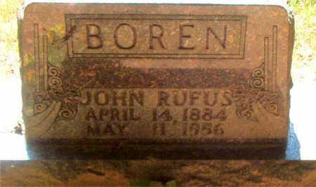 BOREN, JOHN RUFUS - Boone County, Arkansas | JOHN RUFUS BOREN - Arkansas Gravestone Photos