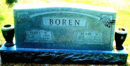 HOBBS BOREN, PEARL M. - Boone County, Arkansas | PEARL M. HOBBS BOREN - Arkansas Gravestone Photos
