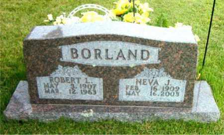BORLAND, ROBERT L - Boone County, Arkansas   ROBERT L BORLAND - Arkansas Gravestone Photos