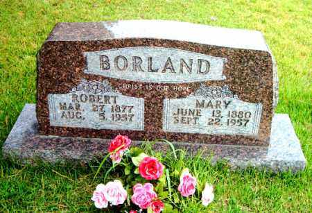 BORLAND, MARY LEMOINE - Boone County, Arkansas | MARY LEMOINE BORLAND - Arkansas Gravestone Photos