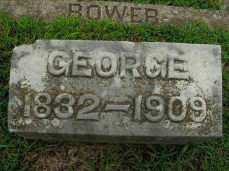 BOWER, GEORGE FRANKLIN - Boone County, Arkansas | GEORGE FRANKLIN BOWER - Arkansas Gravestone Photos