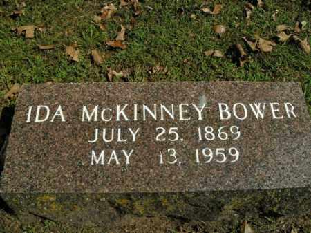 MCKINNEY BOWER, IDA - Boone County, Arkansas | IDA MCKINNEY BOWER - Arkansas Gravestone Photos