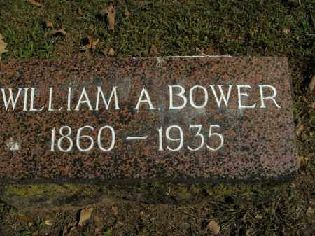 BOWER, WILLIAM A. - Boone County, Arkansas | WILLIAM A. BOWER - Arkansas Gravestone Photos