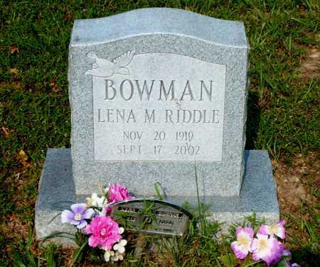BOWMAN, LENA M. - Boone County, Arkansas | LENA M. BOWMAN - Arkansas Gravestone Photos