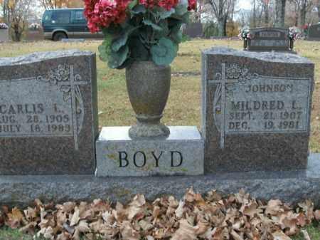 JOHNSON BOYD, MILDRED L. - Boone County, Arkansas | MILDRED L. JOHNSON BOYD - Arkansas Gravestone Photos