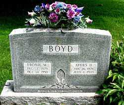 BOYD, AYERS - Boone County, Arkansas | AYERS BOYD - Arkansas Gravestone Photos