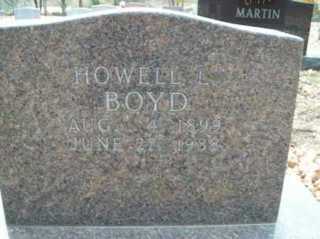 BOYD, HOWELL L. - Boone County, Arkansas | HOWELL L. BOYD - Arkansas Gravestone Photos