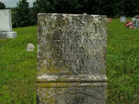 BOYD, LOUISIA - Boone County, Arkansas | LOUISIA BOYD - Arkansas Gravestone Photos