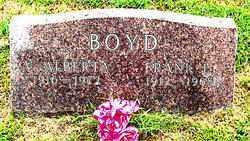 BOYD, FRANK L - Boone County, Arkansas   FRANK L BOYD - Arkansas Gravestone Photos