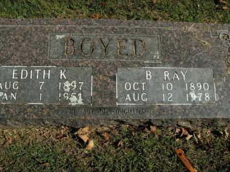 BOYED, EDITH K. - Boone County, Arkansas   EDITH K. BOYED - Arkansas Gravestone Photos