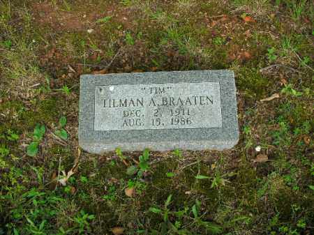 "BRAATEN, TILMAN A. ""TIM"" - Boone County, Arkansas | TILMAN A. ""TIM"" BRAATEN - Arkansas Gravestone Photos"