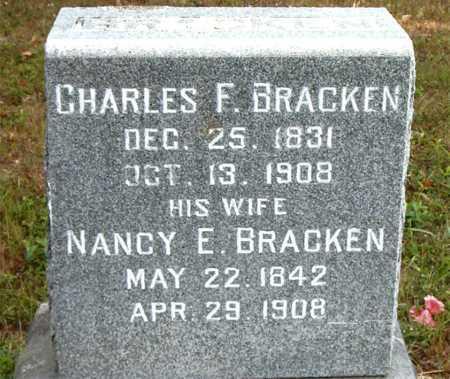 BRACKEN, CHARLES  F - Boone County, Arkansas   CHARLES  F BRACKEN - Arkansas Gravestone Photos