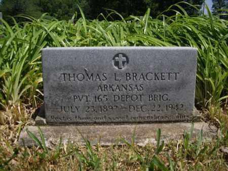 BRACKETT  (VETERAN), THOMAS L. - Boone County, Arkansas   THOMAS L. BRACKETT  (VETERAN) - Arkansas Gravestone Photos