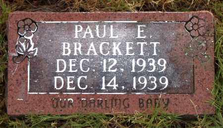 BRACKETT, PAUL  E. - Boone County, Arkansas | PAUL  E. BRACKETT - Arkansas Gravestone Photos