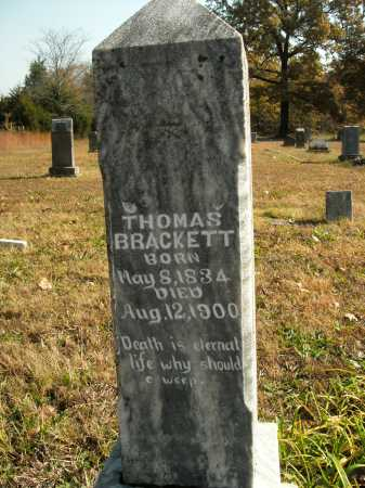 BRACKETT, THOMAS - Boone County, Arkansas | THOMAS BRACKETT - Arkansas Gravestone Photos