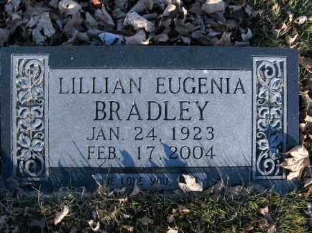 BRADLEY, LILLIAN EUGENIA - Boone County, Arkansas   LILLIAN EUGENIA BRADLEY - Arkansas Gravestone Photos
