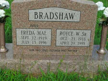 JONES BRADSHAW, FREDA MAE - Boone County, Arkansas | FREDA MAE JONES BRADSHAW - Arkansas Gravestone Photos