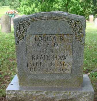 BRADSHAW, LOUISA B. - Boone County, Arkansas | LOUISA B. BRADSHAW - Arkansas Gravestone Photos