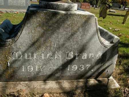 BRAND, MURIEL - Boone County, Arkansas   MURIEL BRAND - Arkansas Gravestone Photos