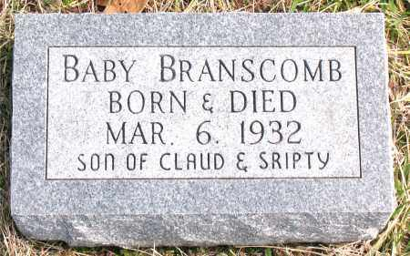BRANSCOMB, INFANT SON - Boone County, Arkansas | INFANT SON BRANSCOMB - Arkansas Gravestone Photos
