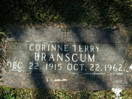 BRANSCUM, CORINNE (SECOND STONE) - Boone County, Arkansas   CORINNE (SECOND STONE) BRANSCUM - Arkansas Gravestone Photos