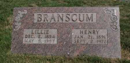 BRANSCUM, HENRY - Boone County, Arkansas   HENRY BRANSCUM - Arkansas Gravestone Photos