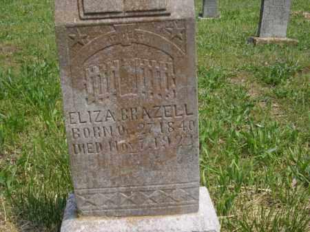BRAZELL, ELIZA - Boone County, Arkansas   ELIZA BRAZELL - Arkansas Gravestone Photos